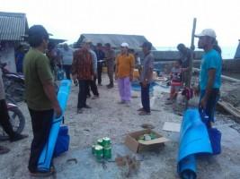 3 Rumah di Bandaragung Dihantam Banjir Rob, Satu Rumah Roboh