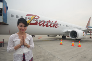 Lion Air Luncurkan Pesawat Batik Air