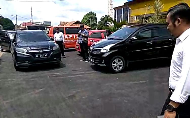 LAMPUNG POST | Mobil Keponakan Menhan Ditemukan di Pringsewu, Polisi Nilai Ada Kejanggalan