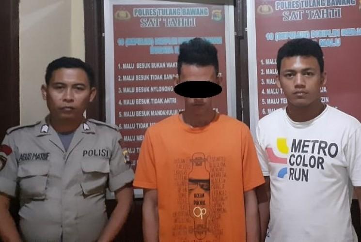 Bandar Sabu Asal Mesuji Ditangkap di Tulangbawang