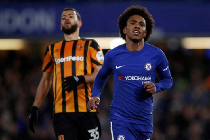 Chelsea Lumatkan Hull City 4-0