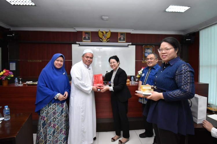 Delegasi Nantong Vocational University Ikuti Exchange Programe