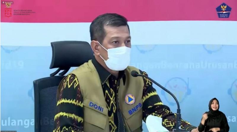 Doni Monardo: Pemprov Lampung Bantu 12 Ribu Alat Tes Antigen dan Tempat Isolasi Hadapi Arus Balik