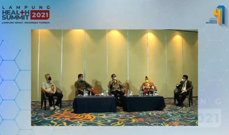 Gubernur: <i>Lampung Health Summit</i> Terobosan Penting