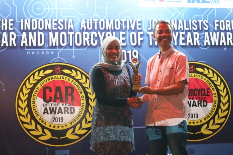 Honda ADV 150 Raih Forwot Motorcycle of The Year 2019
