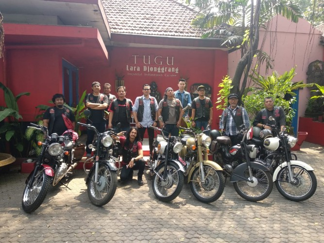Komunitas Bikers Brotherhood 1% MC Akan Gelar Perayaan HUT Ke-31
