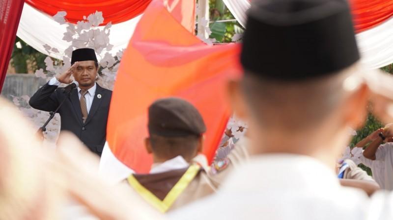 Tinggikan Nasionalisme, PKS Lampung Gelar Upacara HUT Ke-73 RI